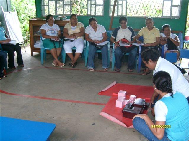 Arbolito workshop for teachers