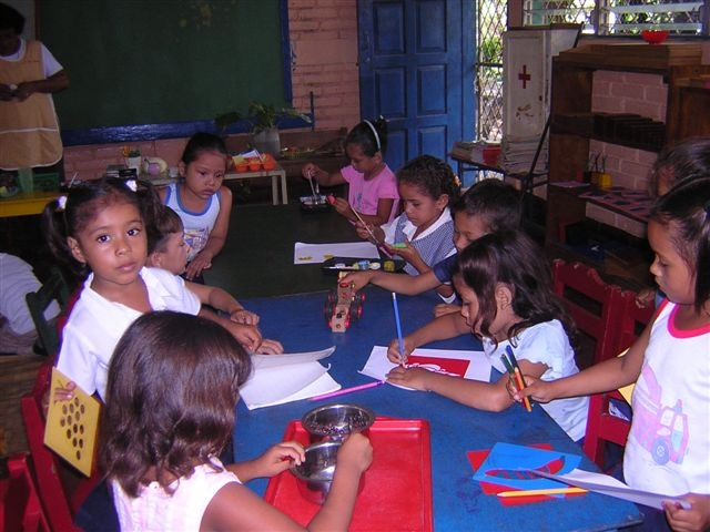BLINC supports under fives education