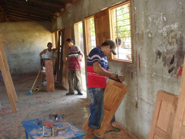 El Chavo school building renovation thanks to BLINC financial support