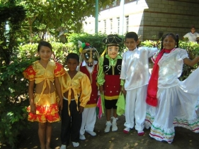 BLINC supports local cultural traditions by funding dance costumes and instructors