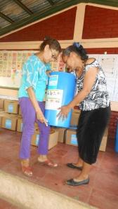 FILTROS DE AGUA PARA Preescolares COMUNITARIOS EN Puerto Morazán